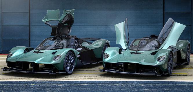 Полет «Валькирии»: Aston Martin представил самый безумный родстер в своей истории