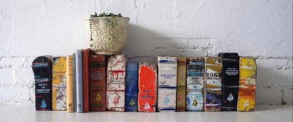 Австралийские книги из кирпичей