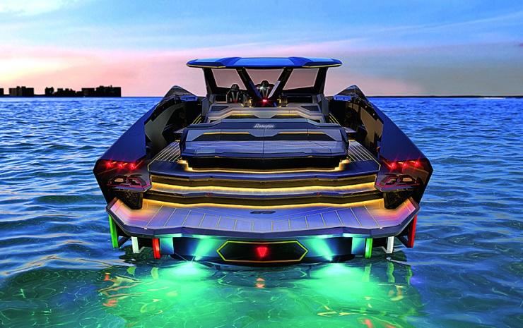 Суперкар на воде: как создавалась скоростная яхта Tecnomar for Lamborghini 63